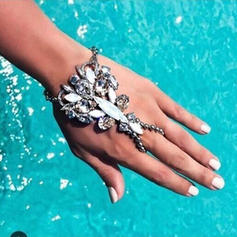 Unique Alloy With Imitation Crystal Women's Beach Jewelry