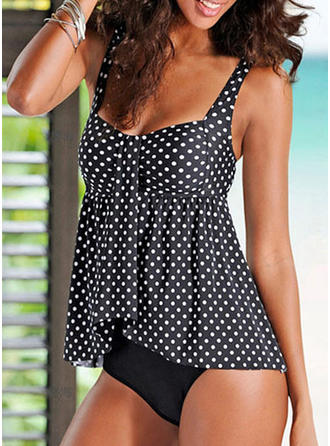 Dot Strap Classic Tankinis Swimsuits
