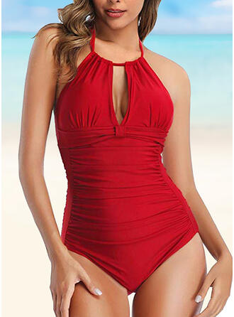 Backless Halter Sexy One-piece Swimsuits